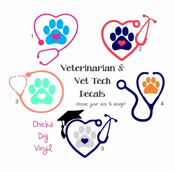 Items similar to Veterinarian or Vet Tech Stethoscope ...