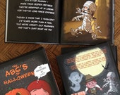 The ABC's of Halloween as Imagined by Lucy