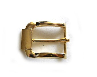 2 Gold Finished Buckle