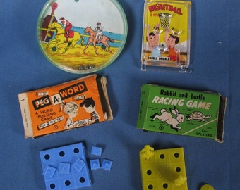 Four Tiny Games from the 1960s