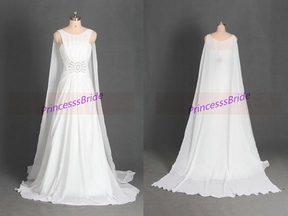 Items Similar To 2016 Long Chiffon Wedding Gowns With