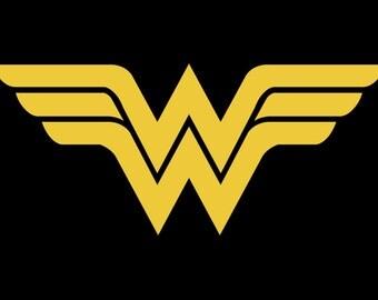 Wonder Woman Vinyl Sticker