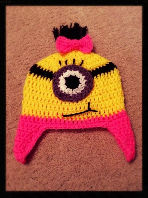 Knitting Pattern For Minion Beanie : Crochet Minion Beanie for the Girls