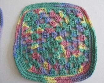 Rainbow Wash Cloth