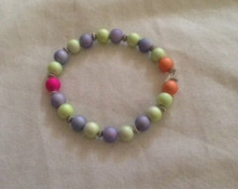 Multicoloured 'Candy' bracelet