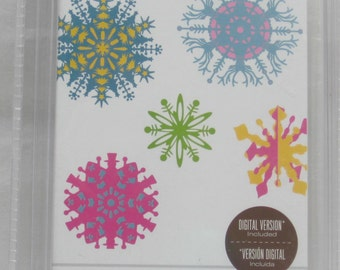 Cricut Cartridge, When It's Cold Outside 2009-2010, Snowflakes