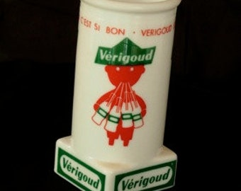 "Vintage French Advertising Vase:""Verigoud"""