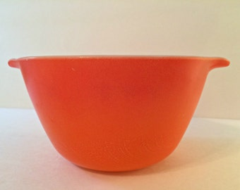 Vintage Orange Fire King Bowl/Casserole Dish