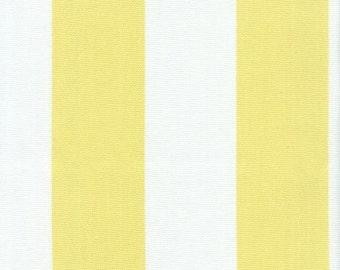 Outdoor Stripe Yellow & White, Stripe Fabric