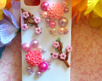 iPhone Case 5/5S - Cherry Blossom