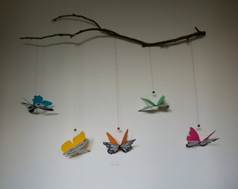 Montessori Baby Mobile Butterfly