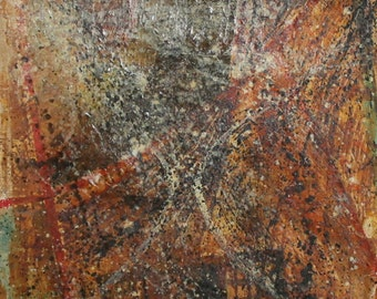 European art oil painting abstract portrait signed