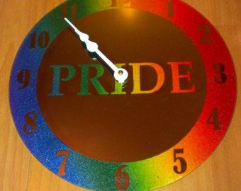 Pride Clock - Mirror