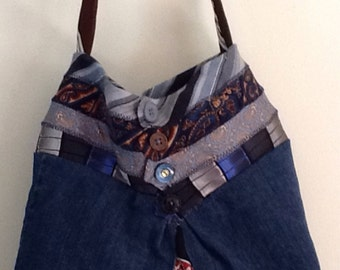 Handmade/go green with ties #425