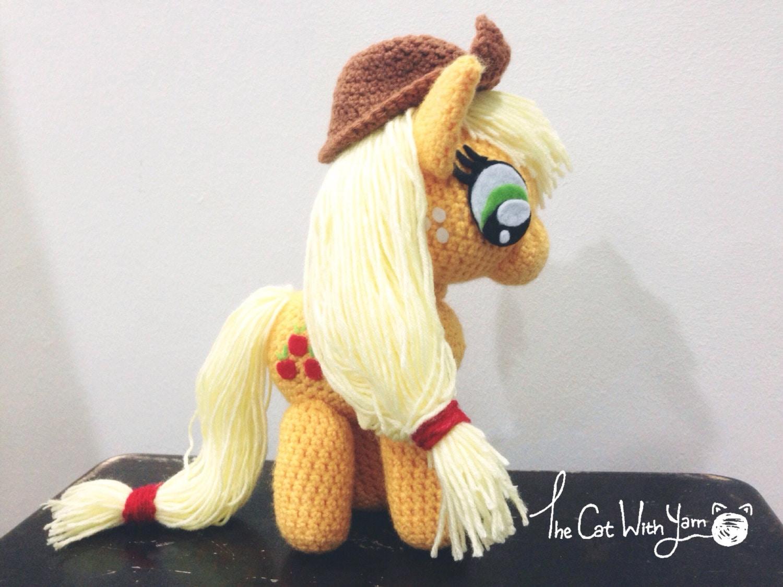 AppleJack Amigurumi Doll My Little Pony