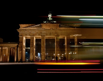 Brandenburger Gate, Berlin, Germany, printable fine art photography, instant download