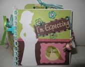 I'm Expecting (Pregnancy) Pop-out Scrapbook Album