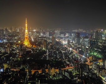 Japan - Tokyo - Tokyo city at night - SKU 0006