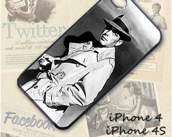 Humphrey Bogart cell phone Case / Cover for iPhone 4, 5, Samsung S3, HTC One X, Blackberry 9900, iPod touch 4 / 058