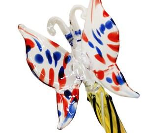 Butterfly Glass Pen -  Ballpoint