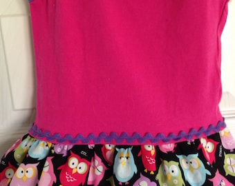 Hoot Owls tank dress