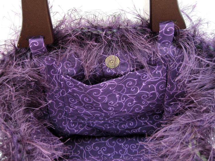 teppich tasche gestrickt gefilzte handtasche von etsybetsybits. Black Bedroom Furniture Sets. Home Design Ideas
