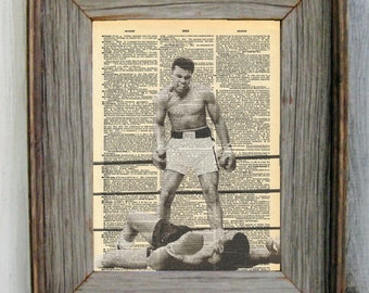 Muhammed Ali Dictionary Art Print