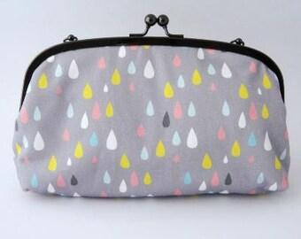 Summer Raindrops Clutch Bag