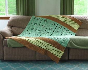Crochet Pattern ~ Southern Sensation Afghan Crochet Pattern