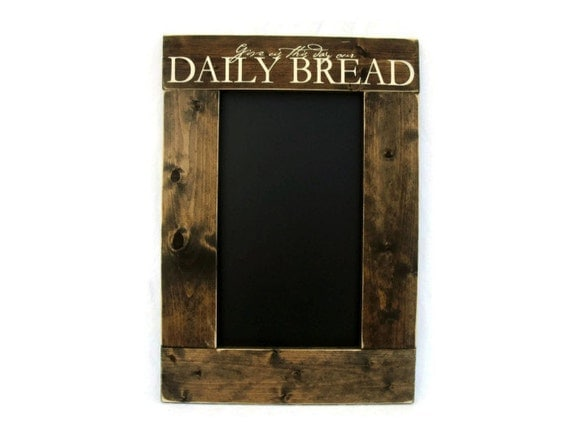 Rustic Wooden Kitchen Chalkboard Wall Hanging Home Decor Give