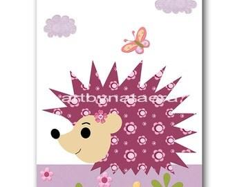Baby Girl Nursery Art Digital Wall Art Baby Room Decor Baby Nursery Decor Digital Decor Digital Print 8x10 11X14 INSTANT DOWNLOAD violet