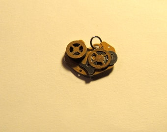 Vintage Watch-Part Pendant - Without chain