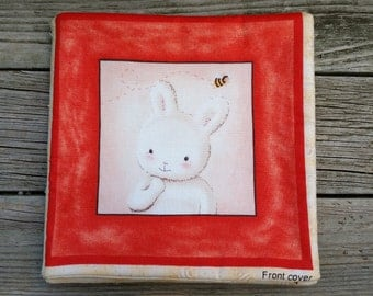 Who's A Bunny Fabric Book