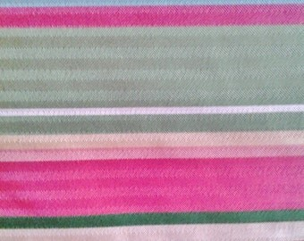 Breezeway Stripe - Waverly Fabric - Raspberry - Sold by the Yard - Morningstars