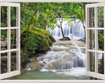 High Quality 3D Window Wall Stickers For By