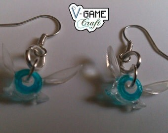 Navi the Fairy earrings based on The Legend of Zelda