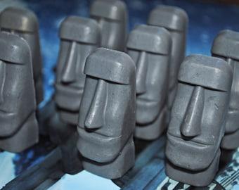 Fun Easter Island Soap x 5!