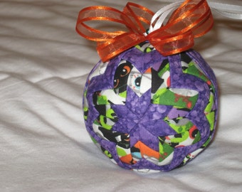 Quilted Halloween Ornament