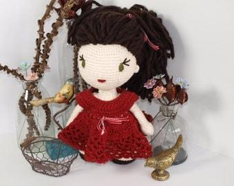 "Crochet Pattern Doll ""Anna"" PDF"