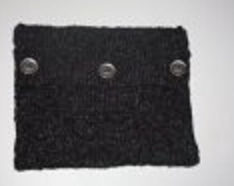 Knitted iPad cover