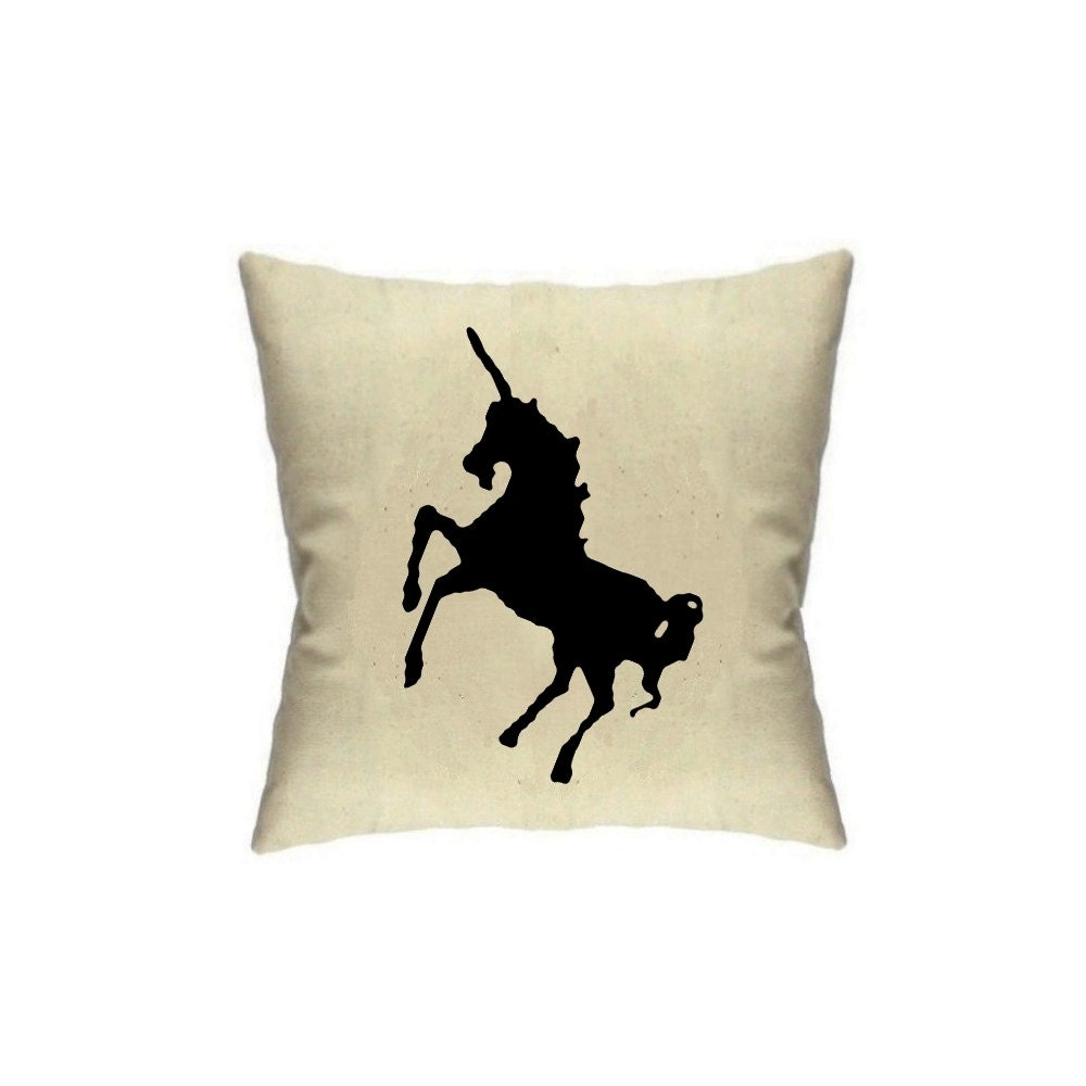 Home Decor Pillow Unicorn Pillows Pillowcase 18 X 18 Cushion