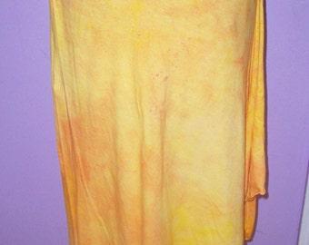 Hand-dyed skirt, size medium