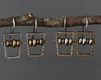 Abacus Earrings