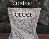 Custom Order-- Planters for Steve
