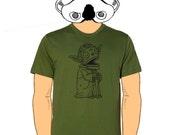 Old Yoda Calavera Mens T-Shirt Small, Medium, Large, XL in 9 Colors