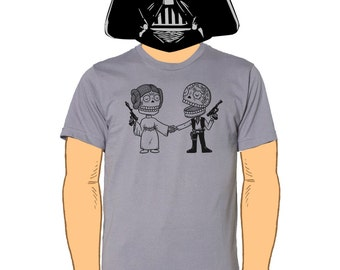 Star Couple Mens T-Shirt Small, Medium, Large, X-Large in 7 Colors