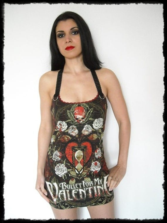 Bullet For My Valentine Shirt Top Tunic Top By