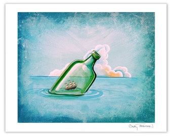 Seafarer Series Limited Edition - The Messenger - Signed 8x10 Matte Print (6/10)