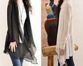 Moroccan breeze - poetic layered jacket (P5105)