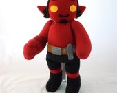 Cuddly Plush Demon Friend